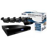 Комплект видеонаблюдения 4-х канальный с 4 IP-камерами MARS NVR Combo Kit MR-4040