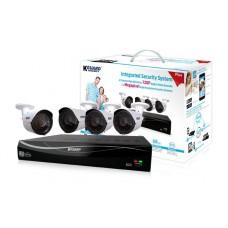 Комплект видеонаблюдения AHD 720p 4-х канальный с 4 камерами