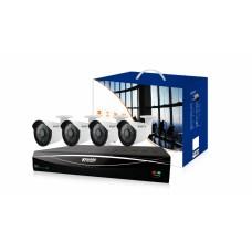Комплект видеонаблюдения 6-ти канальный с 4 камерами
